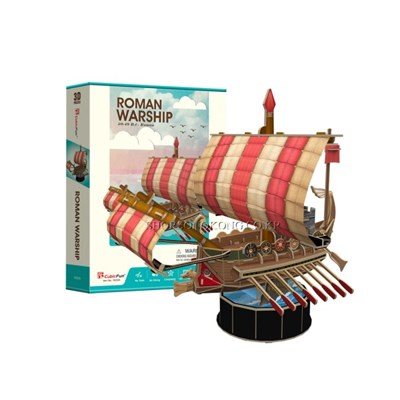 [큐빅펀] 로마군함 선박 시리즈_(1219715)