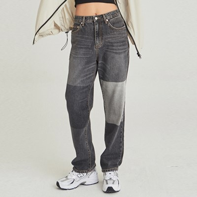 W PANEL WASH WIDE JEAN_GRAY DENIM