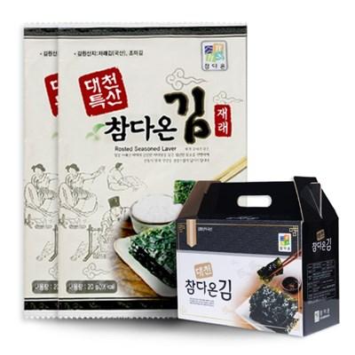 [농사랑대천 참다온 전장김 20g x 10봉_(1399499)