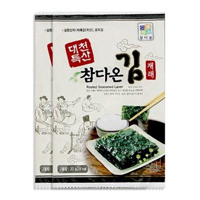 [농사랑]대천 참다온 전장김 20g x 15봉_(1399498)