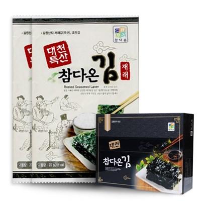 [농사랑]대천 참다온 전장김 20g x 18봉_(1399497)