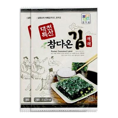 [농사랑]대천 참다온 전장김 20g x 20봉(가정용)_(1399496)