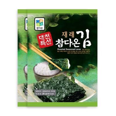 [농사랑]대천 참다온 프리미엄 전장김 20g x 20봉_(1399494)