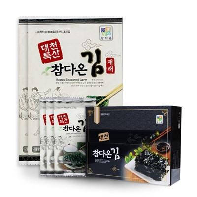 [농사랑]대천 전장김 9봉(20g)+도시락김 15봉(5g)_(1399493)