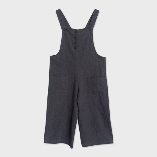 easy jumpsuit (charcoal)