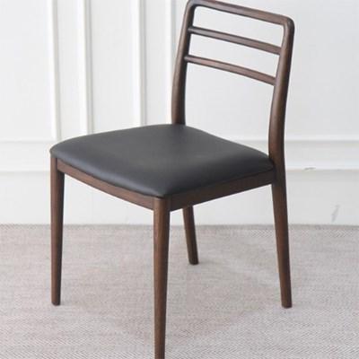 EN_C_0157 인테리어 디자인 티크원목 의자