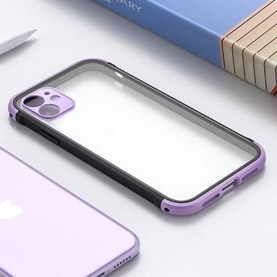 아이폰8 컬러 포인트 클리어 하드 케이스 P520_(3000298)