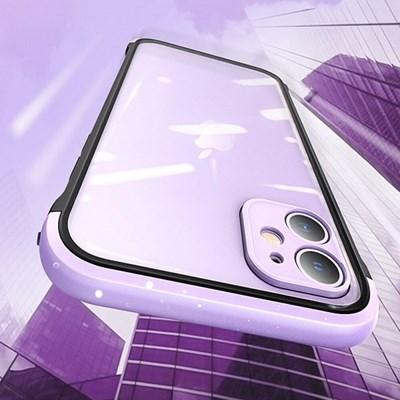 아이폰11프로맥스 컬러 클리어 하드 케이스 P520_(3000277)