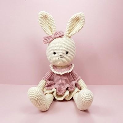 [손뜨개 DIY]손뜨개인형-토끼친구5