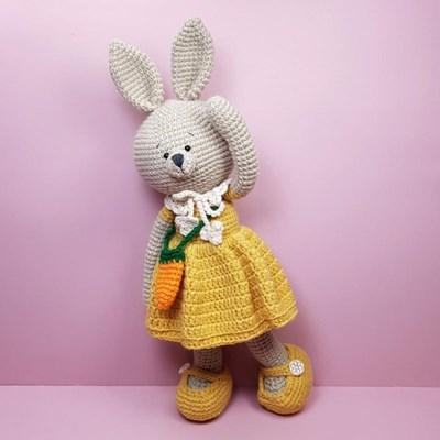 [손뜨개 DIY]손뜨개인형-토끼친구4