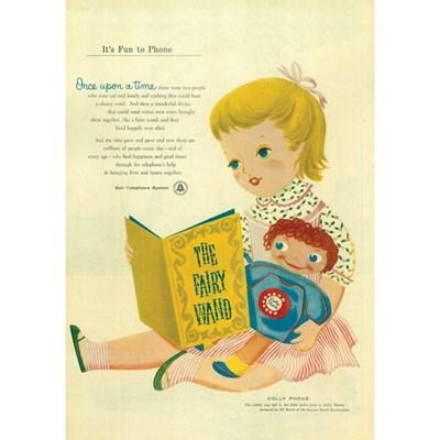 [디저트신드롬] 빈티지 일러스트 포스터 :: the fairy wand