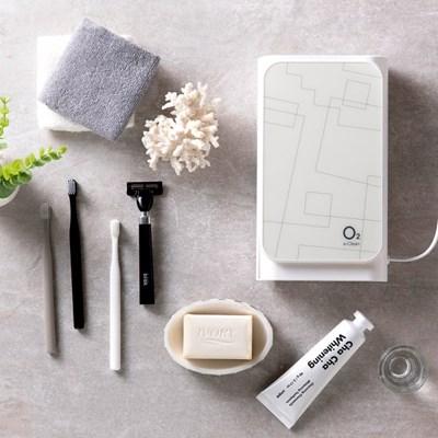 메디슨 오투케어 칫솔걸이 가정용 살균기 면도기 칫솔건조기 거치형