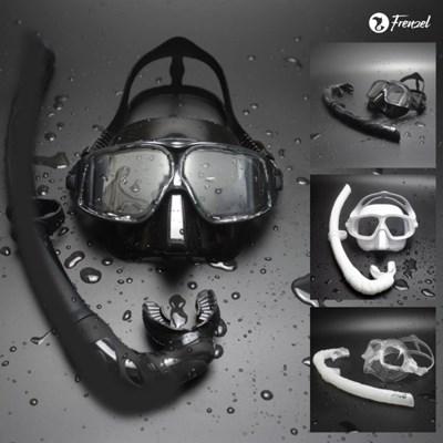 프렌젤 FZ02 엠버 프리다이빙 마스크스노클 세트_(701779047)