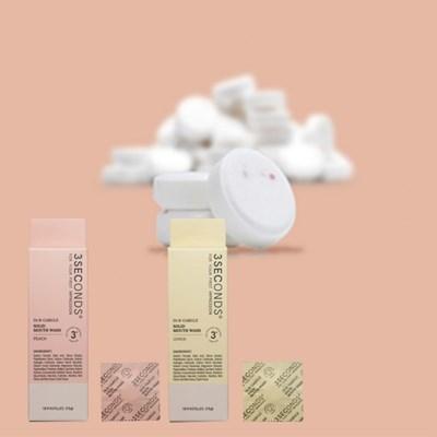 입냄새제거 구취제거제 씹는 휴대용 발포형 가글 닥터알가글