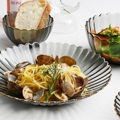 골드라인 미스그레이 접시 미트접시 23cm_(1641041)