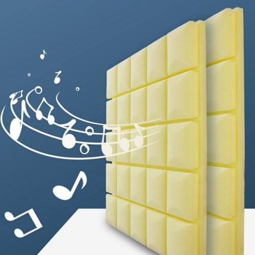 사각형 방음재 방음부스 방음벽 흡음재 세트 (10장)