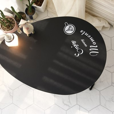 워터드롭 접이식 좌식 테이블 밥상 찻상 780