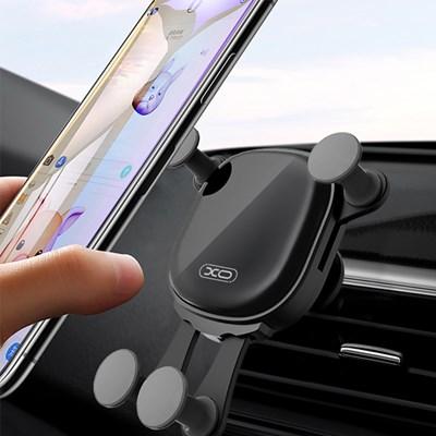 XO C43 큐브 그래비티 송풍구 차량용 핸드폰 거치대