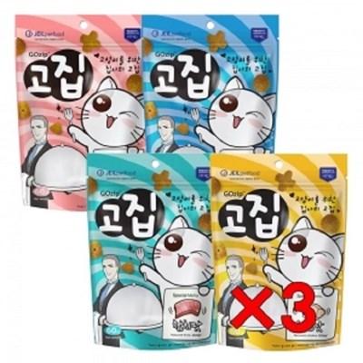 펫 고양이 애묘 캣 영양 간식 고집60g 4종콤보x3개