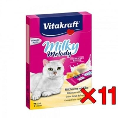 고양이츄르 캣퓨어미니스틱 비타 치즈 70g 11개