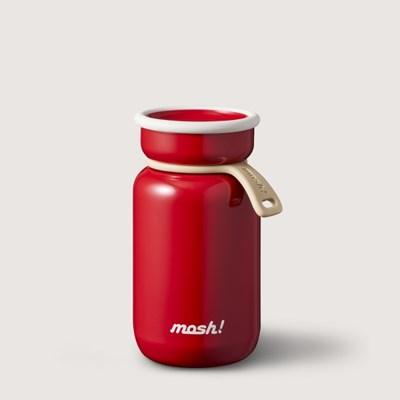 [MOSH] 모슈 보온보냉 라떼 미니 텀블러 200 레드