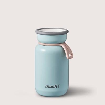 [MOSH] 모슈 보온보냉 라떼 미니 텀블러 200 스카이