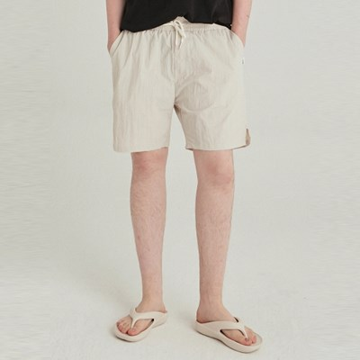 CRUNCH SLIT SHORT_SAND