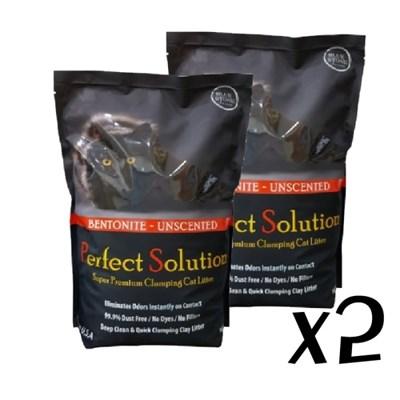 퍼펙트 솔루션 벤토나이트 7kg x 2포/고양이모래,벤토모래