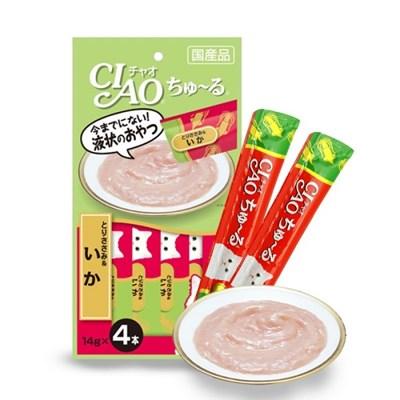 이나바 챠오 츄루 14gx4p-닭가슴살&오징어[SC-79]/츄르,차오츄르