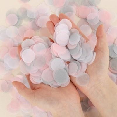 버블컨페티 핑크앤그레이