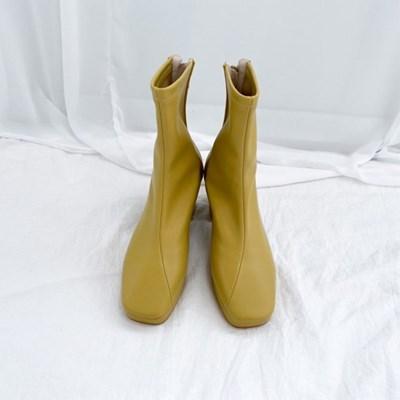 여자 발목 여성 미들힐 가을 4컬러 부츠
