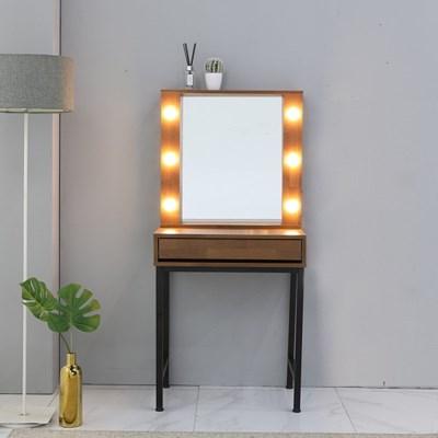 셀리나 600 LED 수납 화장대(거울포함)