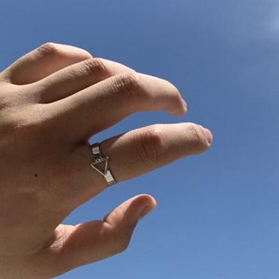 남자 유니크 반지 triangular ring_(1200062)