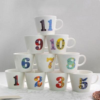기념일 넘버 머그 12종 숫자머그 기념일선물