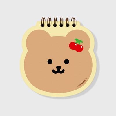Cherry bear(스프링노트)(S)_(1635832)