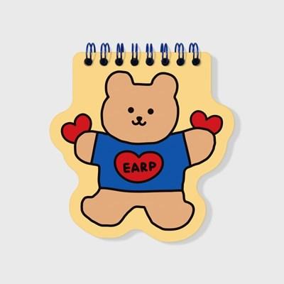 Bear heart-creamyellow(스프링노트)(S)_(1635828)