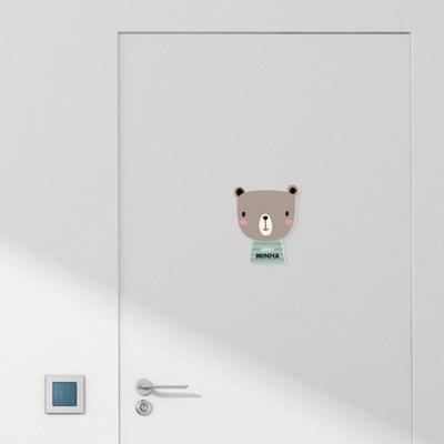 [주문제작]캐릭터내아이방 문패리틀포레스트