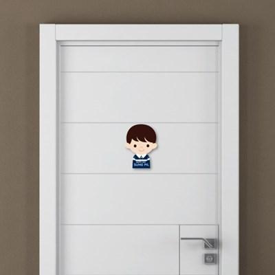 [주문제작]캐릭터내아이방 문패아이들남아