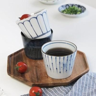 블루 패턴 물컵/소바컵 3종 택1