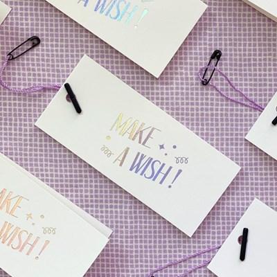make a wish birthday card 생일카드
