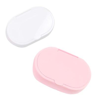 화이트핑크 530 콘택트 렌즈 세척접시/렌즈케이스
