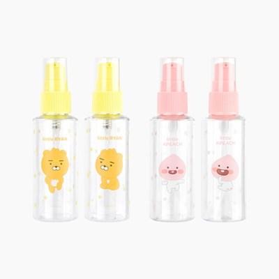카카오 리틀프렌즈 화장품 공병 펌프용기 2P_(2245047)