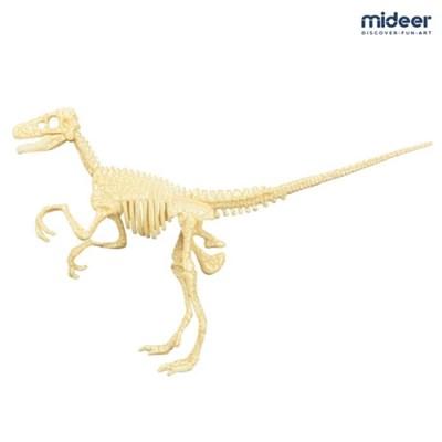 미디어 공룡뼈 퍼즐 화석조립완구 벨로키랍토스_(1153427)