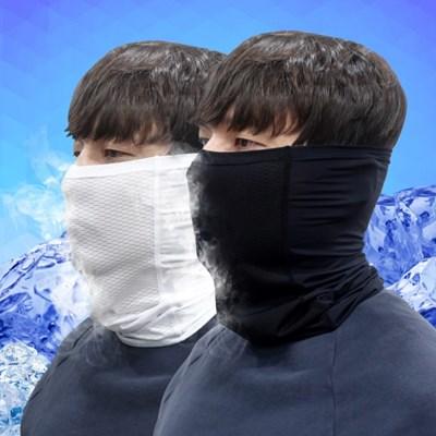 쿨스카프-멀티스카프 쿨마스크 쿨목토시 매쉬 자외선차단 여름용