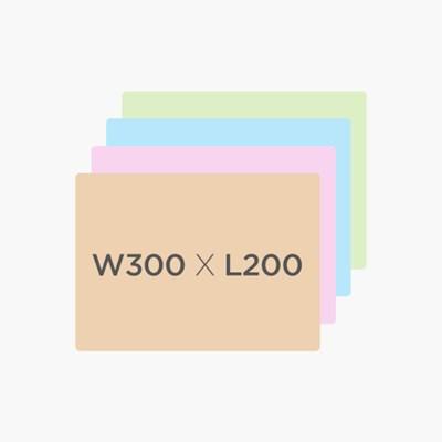 [마그피아] 고무자석 미니 칼라보드 W300 X L200