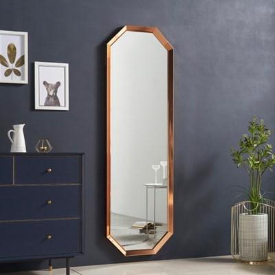 [데코마인] 플레르 팔각 벽걸이 전신거울 벽거울