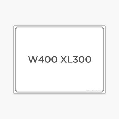 [마그피아] 자석보드 W400 X L300