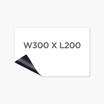 [마그피아] 고무자석 미니 메모보드 W300 X L200