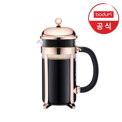 [보덤] 샴보드 프렌치프레스 커피메이커(카퍼) 1L