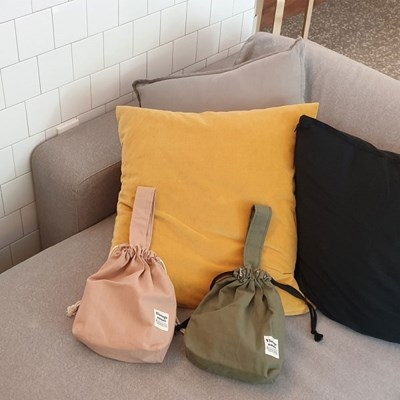 basic string tote bag_2color